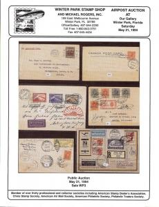 Airpost Auction: Public Auction Sale WP3 , Winter Park St...