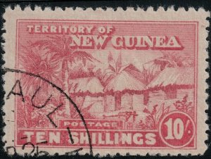 New Guinea 1925-1928 SC 12 Used SCV $200.00