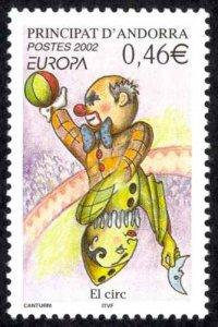 Andorra, French Sc# 559 MNH 2002 Europa