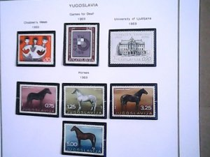 1969  Yugoslavia  MNH  full page auction