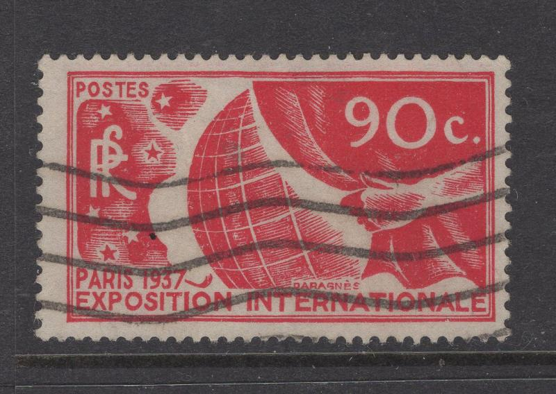 France 1936 Stamps Allegory of Exposition Stamp Scott 319 F