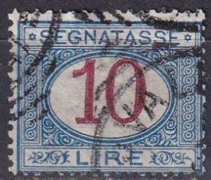Italy #J20   Used  CV $8.00  (Z7027)