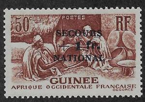 FRENCH GUINEA SC# B8  FVF/MLH    1941