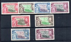 Southern Rhodesia KGVI 1937 Coronation mint LHM & fine used sets SG36-39 WS18810