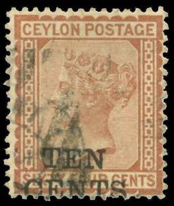 Ceylon Scott 104 Gibbons 164 Used Stamp