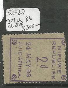 New Republic SG 27, 24 May '86 MOG (1cna)