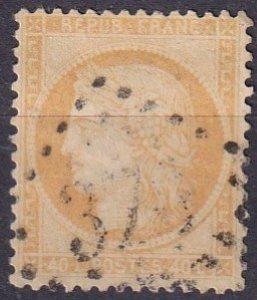 France #59   F-VF Used CV $6.00  (Z4686)