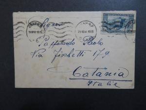 Algeria 1937 Cover to Italy - Z8452