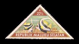 REPUBLIC OF SOUTH MALUKU STAMP. TOPIC: FISH. UNUSED. ITEM 22.5K