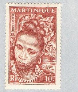 Martinique Woman brown 10c (AP133212)