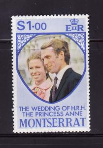 Montserrat 301 MNH Princess Anne's Wedding