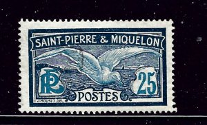 St Pierre and Miquelon 88 Used 1909 issue