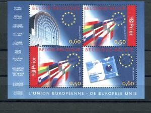 Belgium 2004  Europa sheet/booklet  VF NH - Lakeshore Philatelics