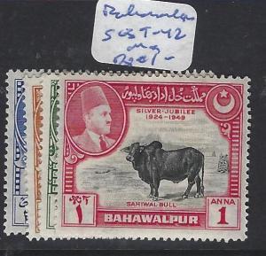 PAKISTAN BAHAWALPUR  (P1810BB)   SG 39-42   MOG