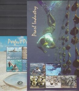 Penrhyn  Islands #485-6 MNH CV $13.00  (K1887L)