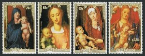 Cook Isl 1002-1005,MNH.Mi 1264-1267. Christmas 1988.Paintings by Albrecht Durer.