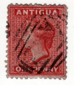 Antigua #6, Used, CV $26.5   ........   0260005
