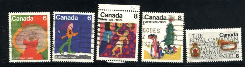Can #674-77,680   -2   u   VF 1975 PD
