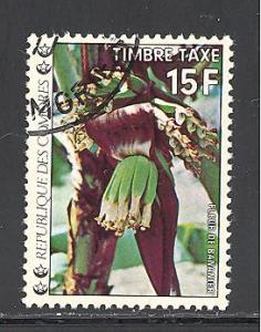 Comoro Islands Sc # J10 used (DT)