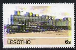 Lesotho 1984 Railways of the World 6s The Orient Express ...