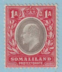 SOMALILAND PROTECTORATE 28  MINT HINGE REMNANT OG * NO FAULTS VERY FINE !