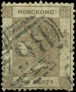 Hong Kong Scott #8 Used