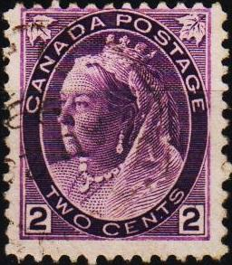 Canada.1898 2c S.G.154 Fine Used