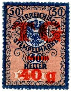 (I.B) Austria/Hungary Revenue : Customs Porterage Fees 40g on 50h OP