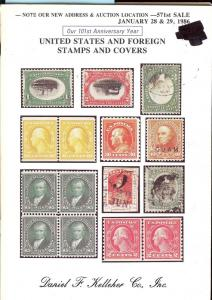 United States and Foreign Stamps and Covers, Kelleher 571