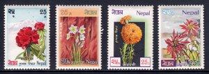 Nepal - Scott #224-227 - MLH - SCV $3.00