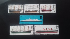 Great Britain 1969 British Seamen and Shipbuilders Mint