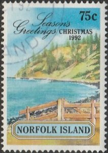 Norfolk Island, #531 Used,  From 1992