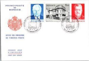 Monaco, Worldwide First Day Cover, Royalty