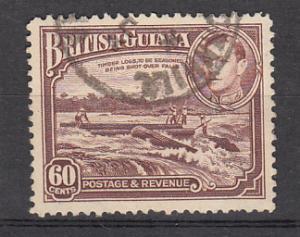 British Guiana SC# 237  1938 60c KGVI used