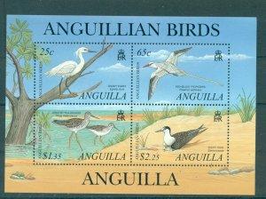 Anguilla - Sc# 1058. 2001 Birds. MNH Sheet. $14.00.