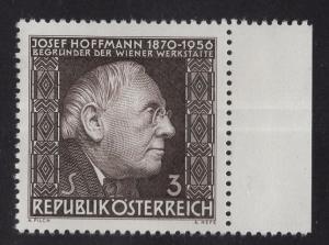 Austria  #760   1966  MNH   Josef Hoffmann