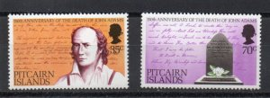 Pitcairn #182-183 MNH