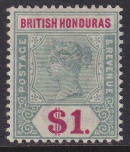 British Honduras 1899-1901 SC 55 MLH