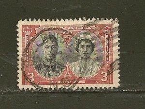 Canada 248 King George VI & Elizabeth Used