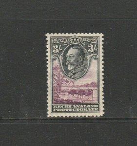 Bechuanaland 1932 GV 3/- MM SG 108