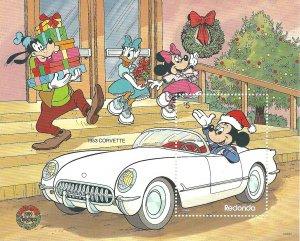 Redonda  SS   Disney  Mint NH VF 1989 PD