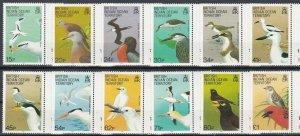 British Indian Ocean Territory 1990 Birds Definitives MNH CV £25.60