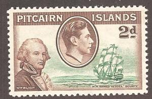 Pitcairn Islands 4 Mint VF LH