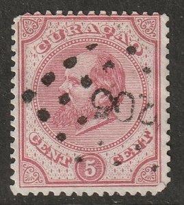 Netherlands Antilles 1876 Sc 3b used