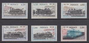 Monaco   #692-97    mnh    cat $11.90