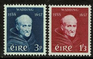Ireland 163-64  MNH - Historian Luke Wadding - 1957
