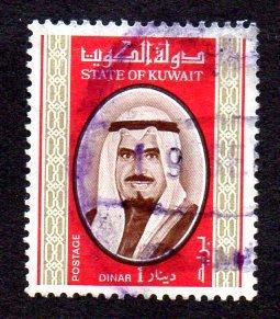 KUWAIT 762 USED SCV $12.50 BIN $4.25 POLITICS