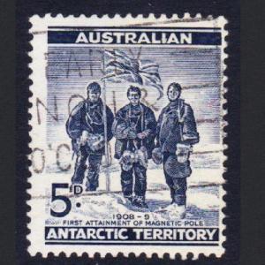 Australian Ant. Terr. Shackleton Expedition 5d canc T1 SG#6 SC#L6