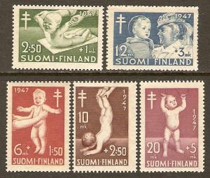 Finland #B82-6 NH Infants