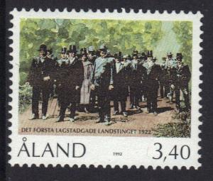 Aland islands  #68  MNH  1992  Parliament